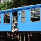 O comboio para Kandy