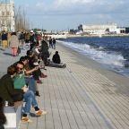Retratos de Lisboa : Beira Tejo na Ribeira das Naus