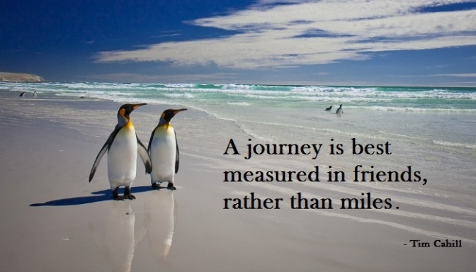 travel quote - penguins